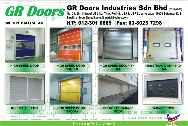High Speed Door Roller Shutter Door Rapid Door Steel