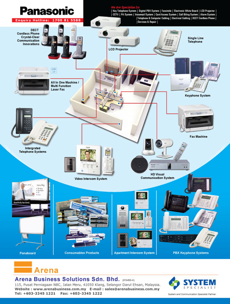 Panasonic Keyphone System Office Automation Supplies Cctv
