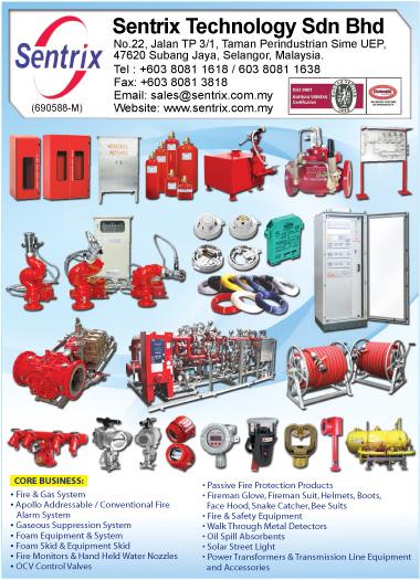 Fire detection system fire alarm system ocv control for Bureau veritas m sdn bhd