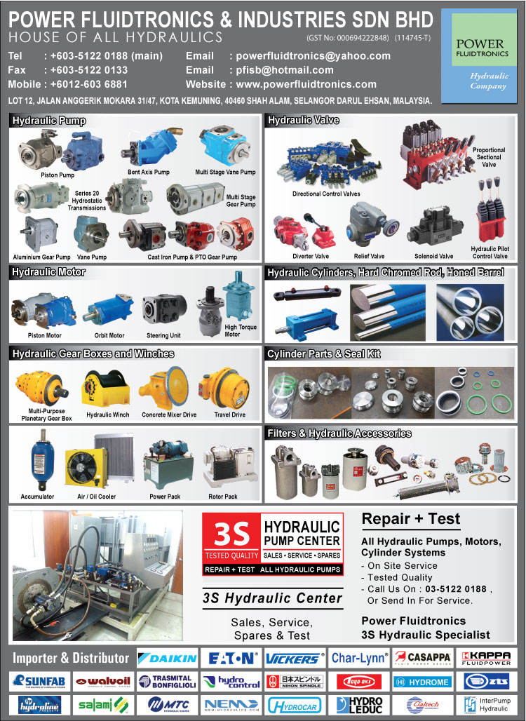 Power Fluidtronics Amp Industries Sdn Bhd Agricultural