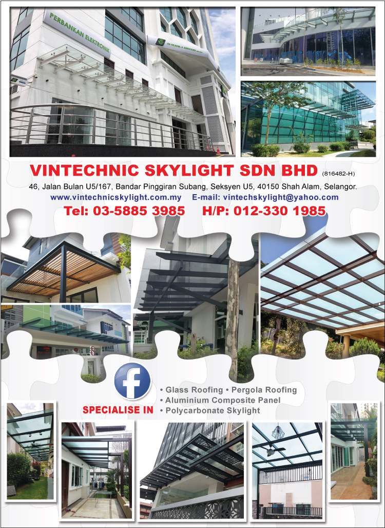 Vintechnic Skylight Sdn Bhd Awnings Amp Canopies Shah