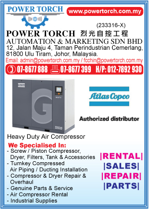 Power Torch Automation Amp Marketing Sdn Bhd Compressors