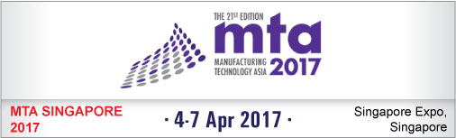 MTA 2017 - The 21st Edition Manufacturing Technology Asia 2017