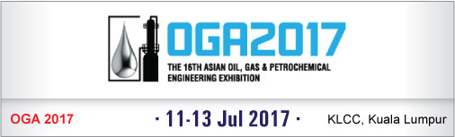 OGA - The 16th Asean Oil, Gas & Petrochemical Engineering Exhibition 2017