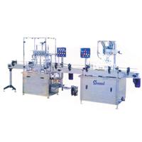 Auto Liquid Filling And Cap Sealing Machine (Pump)