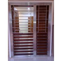 Superbe Stainless Steel Door Grill With Aluminium