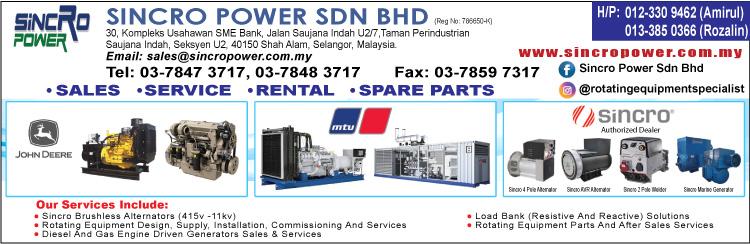 Sincro Power Sdn Bhd | Malaysia