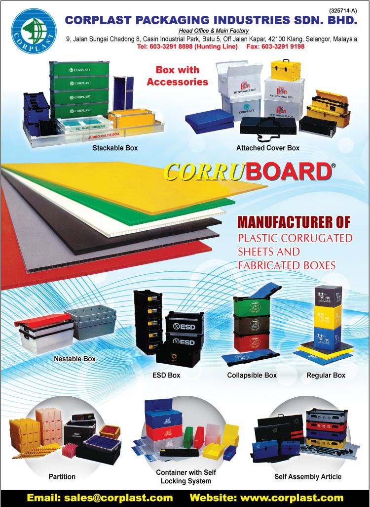 Corplast Packaging Industries Sdn Bhd Plastic Packaging