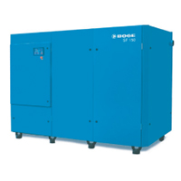 Boge Screw Compressor With Frequency Control