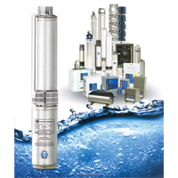 Franklin Electric Bore Hole Submersible Pumps & Motors