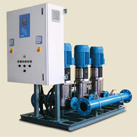 Variable Speed Booster Set For Water Supply And Industry