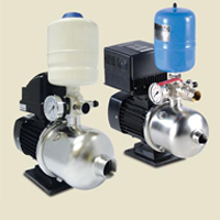 Compact Variable Speed Booster Pump