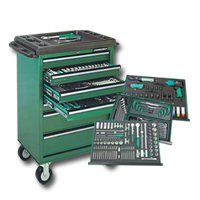 Tool Trolley &  Mechanic Tools Set