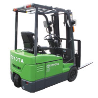 3 Wheeler Battery Forklift