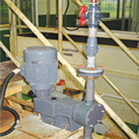 Etatron Chemical Dosing Pump For Waste Water Treatment Plant