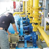 To Repair Cooling Tower Circulation Pump C/W Motor At Site