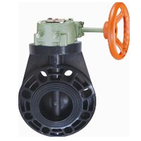 Butterfly Valve (Worm Gear Type)