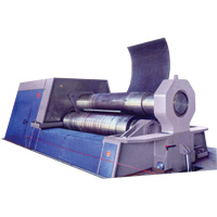 MG 3 Rolls Plate-Bending Machine