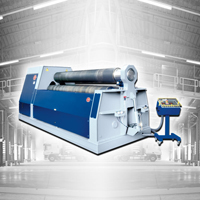 3 Roll Plate Rolling Machine