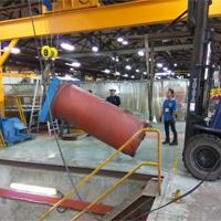 300 Tonne Rubber Press Machine Installation