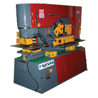 Combined Punching & Shearing Machine