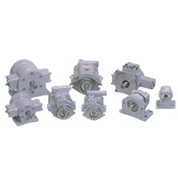 Piston Pump, Vane Pump, Gear Pump (Internal, External)