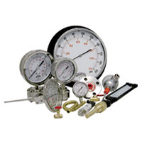 Pressure Gauges, Thermometers & Valves