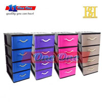 4 Tier A4 Drawer