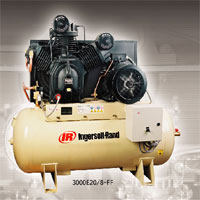 Type 30 Single And Two Stage Horizontal Air Compressor (3Hp-30Hp)