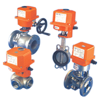 Motorized Valve For Steam, Air, Water, Oil, Gas Vacuum, Hot Water, Etc.