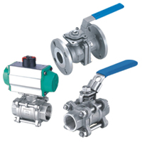 Stainless Steel 1Pc/2Pcs/3Pcs Ball Valve