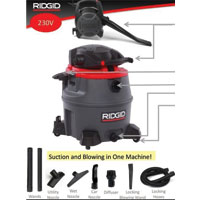 60L Wet Dry Vacuum With Detachable Blower WD1685ND