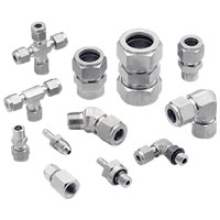 SUS 316 Gaugeable Tube Fittings & Adapter Fittings