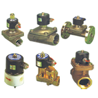 Solenoid Valve For Steam, Air, Water, Oil, Gas Vacuum, Hot Water, Etc.