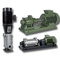 High Pressure Horizontal / Vertical Mulltistage Pumps