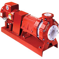 Thermoplastic Pumps For Handling Corrosive Liquids