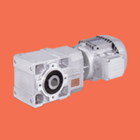 A Series Helical Bevel Gearmotor