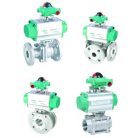 Actuated Ball Valve