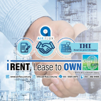 Airflux - IHI Centrifugal, Lease To Own - I-RENT