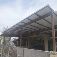 Aluminium Composite Panel Roof