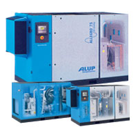 ALUP ALLEGRO Variable Speed Rotary Screw Air Compressors (11 kW ~ 160 kW)