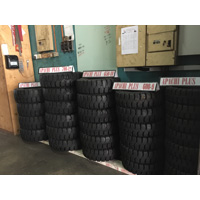 Apachi Forklift Solid Tyres