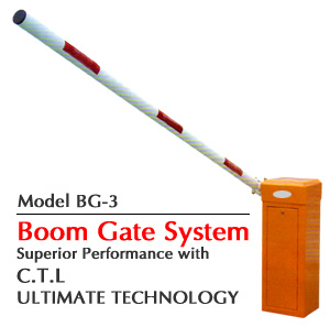 Automatic Boom Gate Barrier