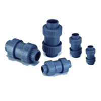Ball Spring Check Valve (Spring Coated PTFE)
