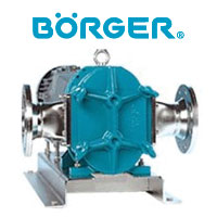BORGER Industrial Rotary Lobe Pumps