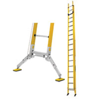 Branach Safety Extension Ladder