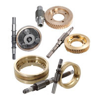 Bronze Worm Gear & Worm Screw