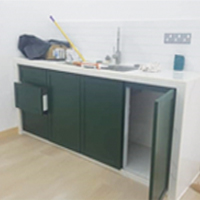 Build in Cabinet