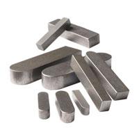 Carbon Steel Machine Key & Double Round Key