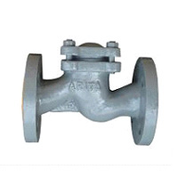 Cast Iron S-Pattern Check Valve